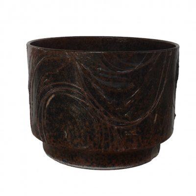 Mid Century Modern David Cressey Ceramic Planter 'Expressive' Design