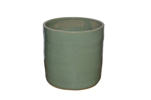 Menthe Artisan Series Glazed Terra Cotta Planter