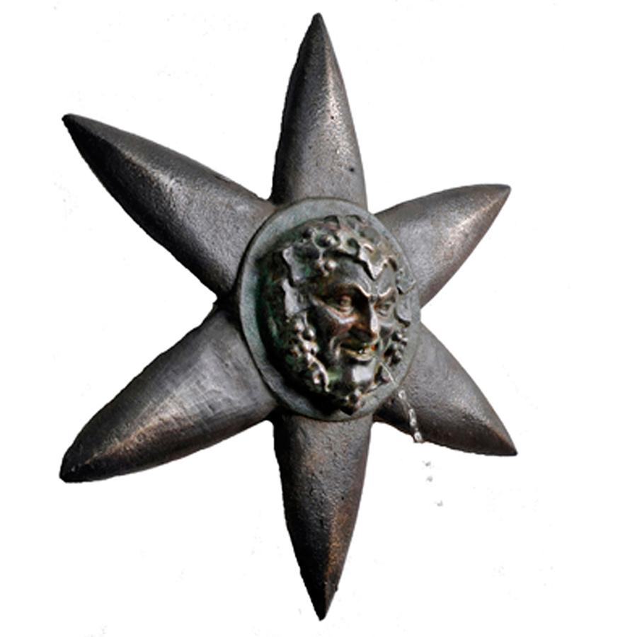 Bronze Bacchus Spitter Inner Gardens