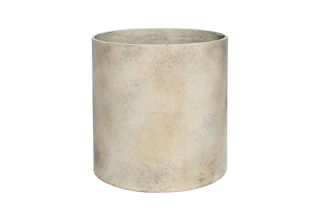 MLT-90---Modern-Cylinder-in-Fibercement-with-applied-Finish-23.75''D-x-23.75''H