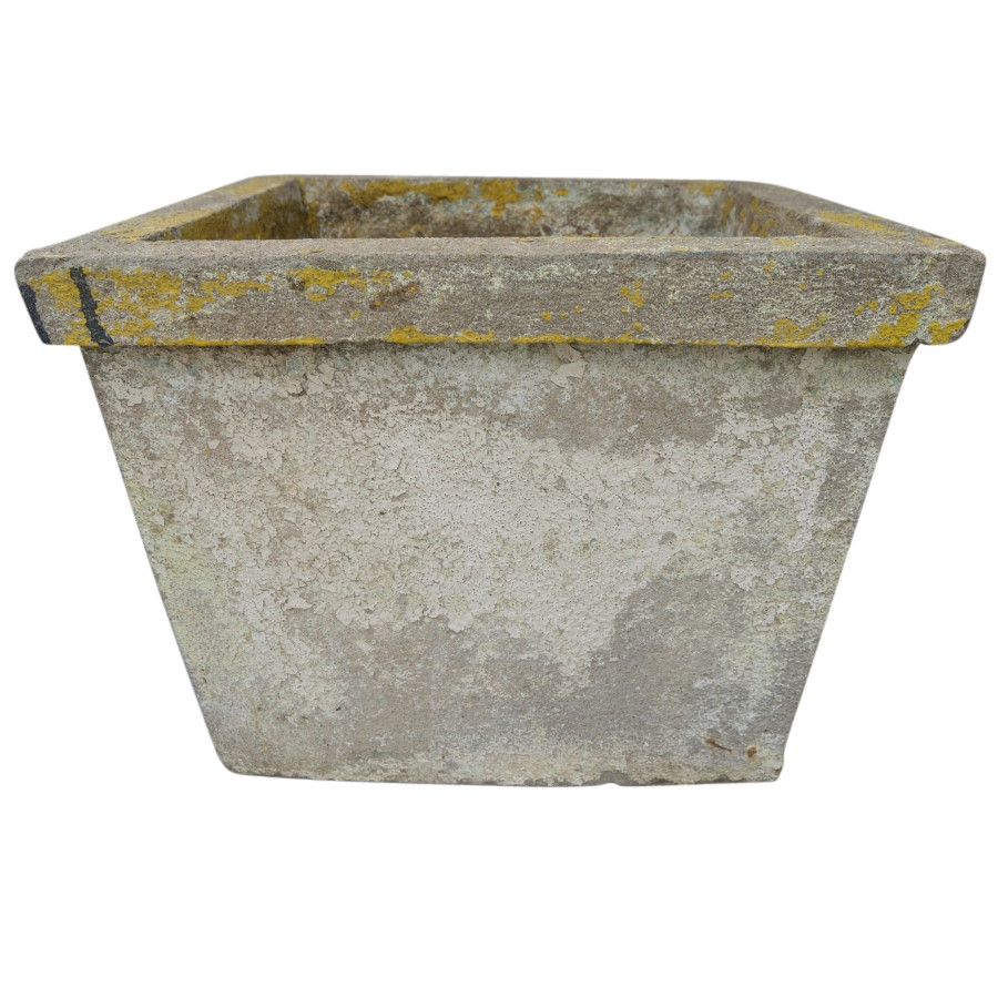 Antique French Cement Planters Inner