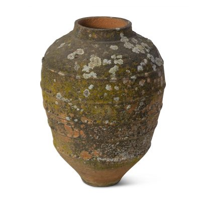 Inner Gardens antique French terra cotta planter jar planter. vintage planter, vintage garden, large outdoor plant pot, outdoor large planters pots, french planter, ideas for garden decor. Discovered by renowned landscape designer Stephen Block.