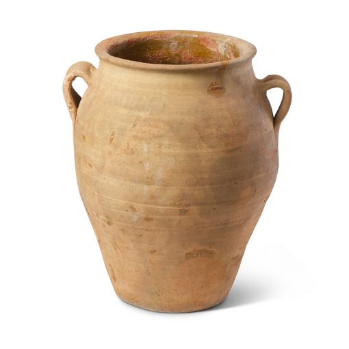 Inner Gardens Antique Spanish Terra Cotta Jar Planter. Vintage terracotta outdoor plant pot. Perfect for creative landscaping and beautiful gardens. Discovered by renowned landscape designer Stephen Block, owner of plant nursery and garden store Inner Gardens.