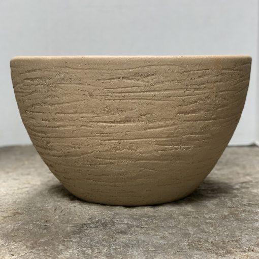 Vintage ceramic midcentury terra cotta, Hans Stumpf scrape pot