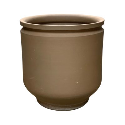 David Cressey Earthgender midcentury pottery, unglazed planter