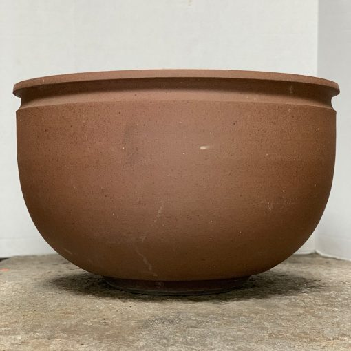 Earthgender vintage planter, Stoneware bowl by David Cressey