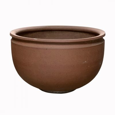 Vintage stoneware planter pot by Earthgender David Cressey