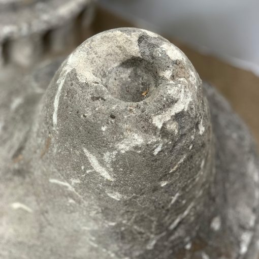 Antique finials, top detail