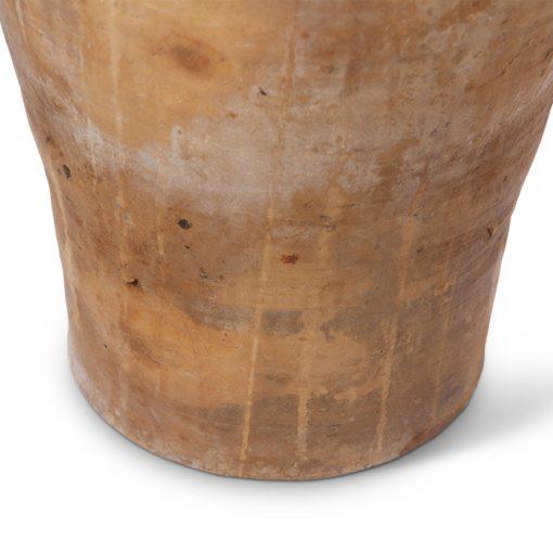 Base of clay pot