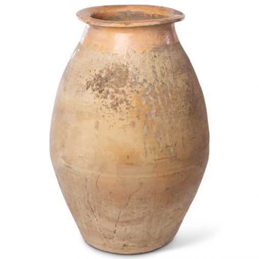 Terra cotta clay vase