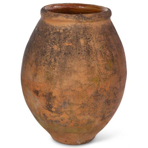 Antique terra cotta pot planter