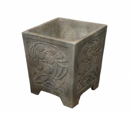 Square Art Deco Planter