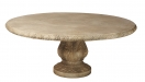 Cast Stone Acanthus Garden Table